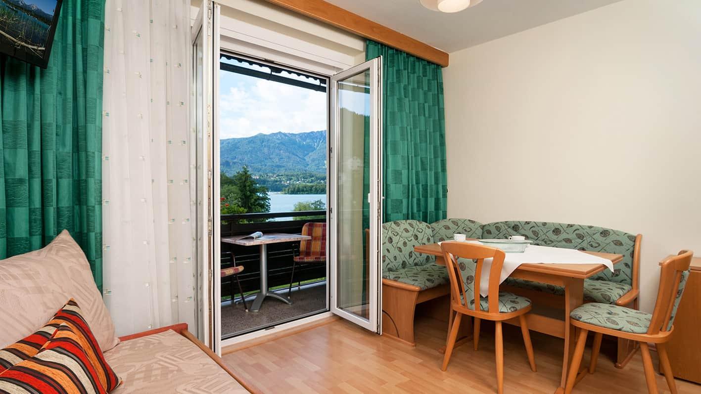 Apartment Berg und Seenwelt mit Faakerseeblick