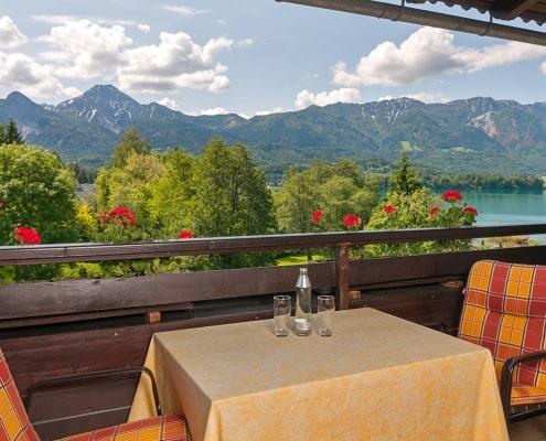 Apartment Karawankenblick Balkon