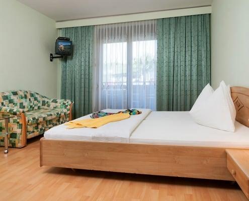 Apartment Seerose Schlafzimmer