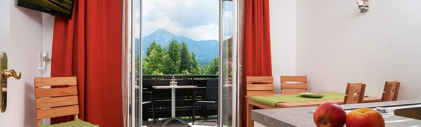 Apartment Seerose mit Balkon