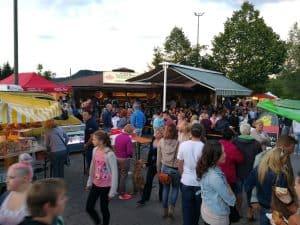 Bauernmarkt Faak am See. Tourismusstand.