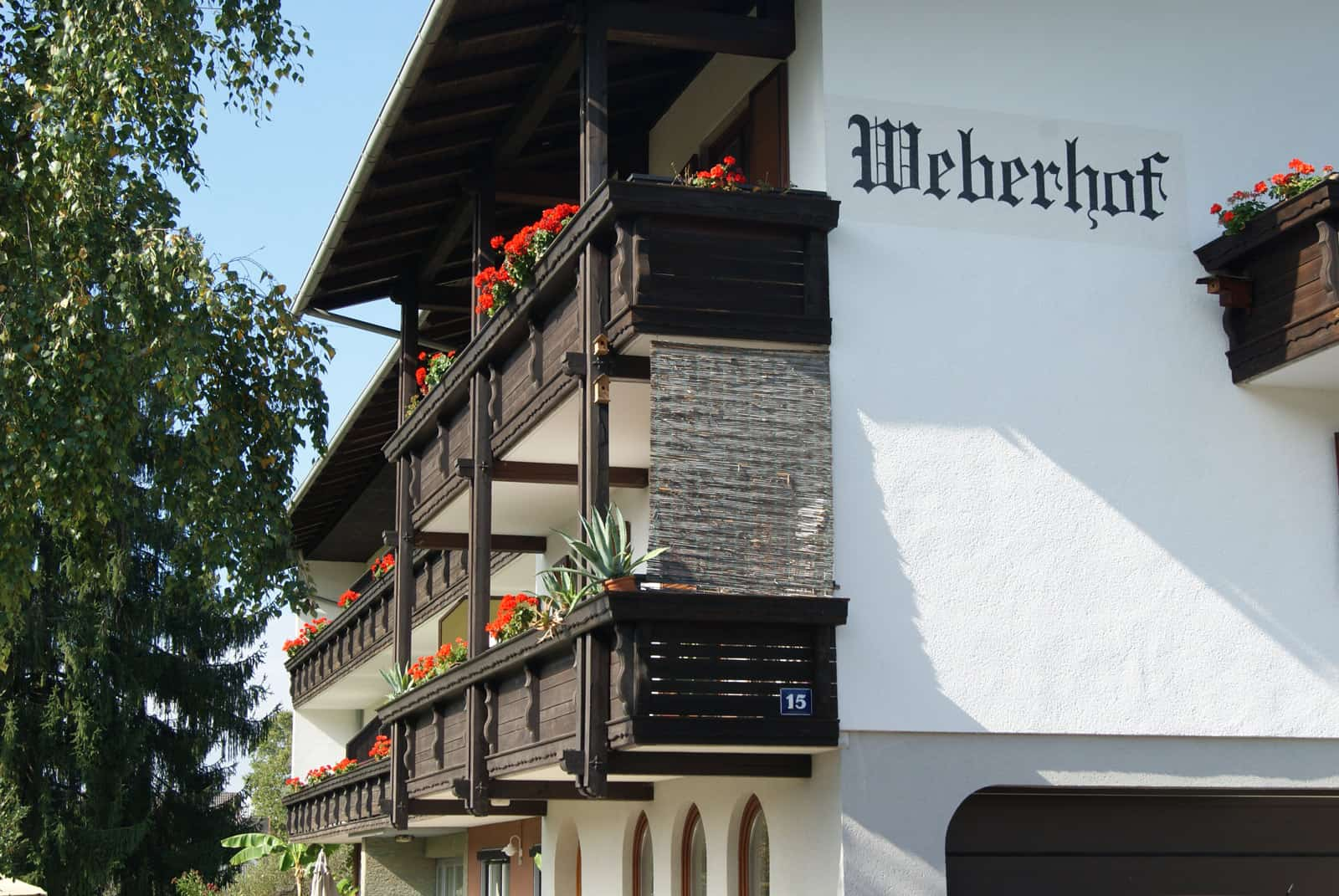 Apartments Weberhof Hausansicht