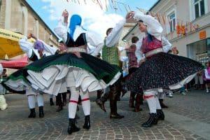 Tanzgruppe am Villacher Kirchtag