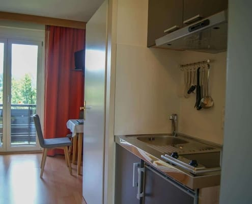 Studioapartment mit Kitchenette