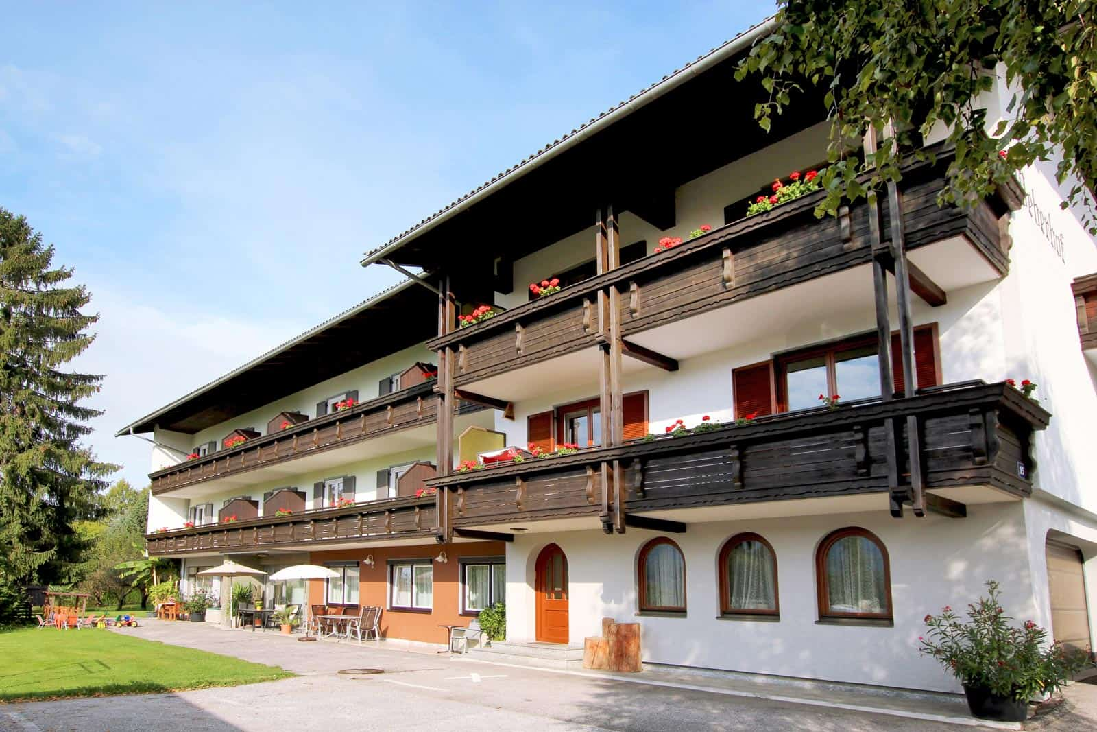 Südansicht Weberhof